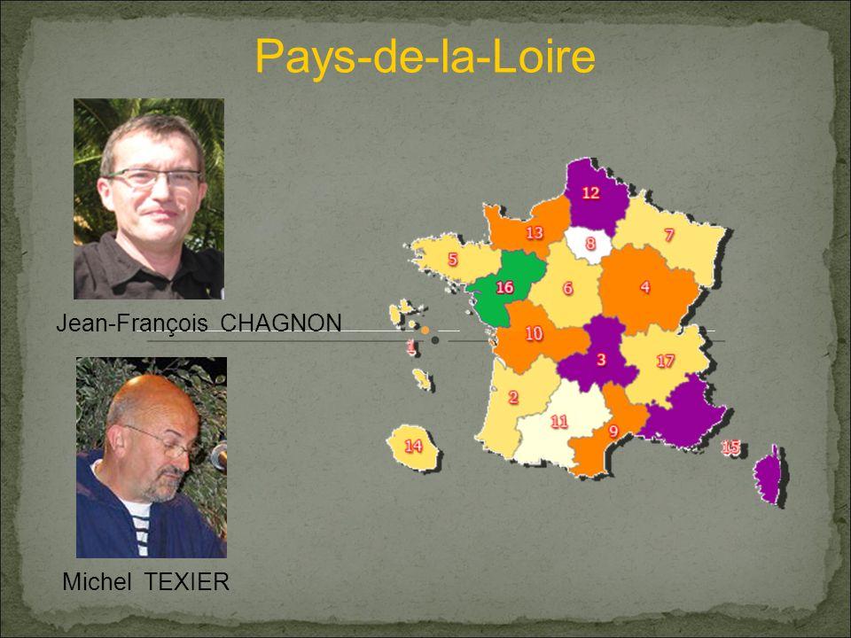 Pays-de-la-Loire Jean-François CHAGNON Michel TEXIER