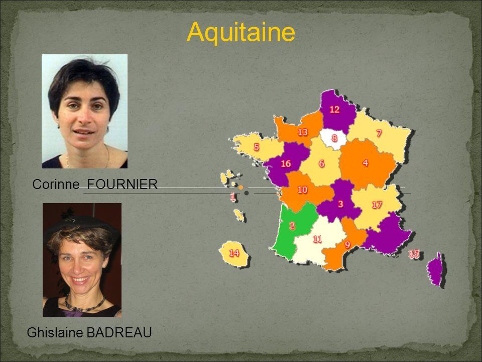 Aquitaine Corinne FOURNIER Ghislaine BADREAU