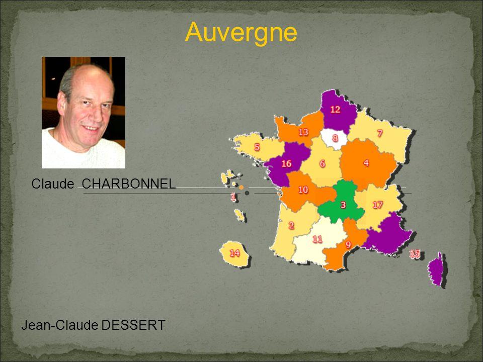 Auvergne Claude CHARBONNEL Jean-Claude DESSERT
