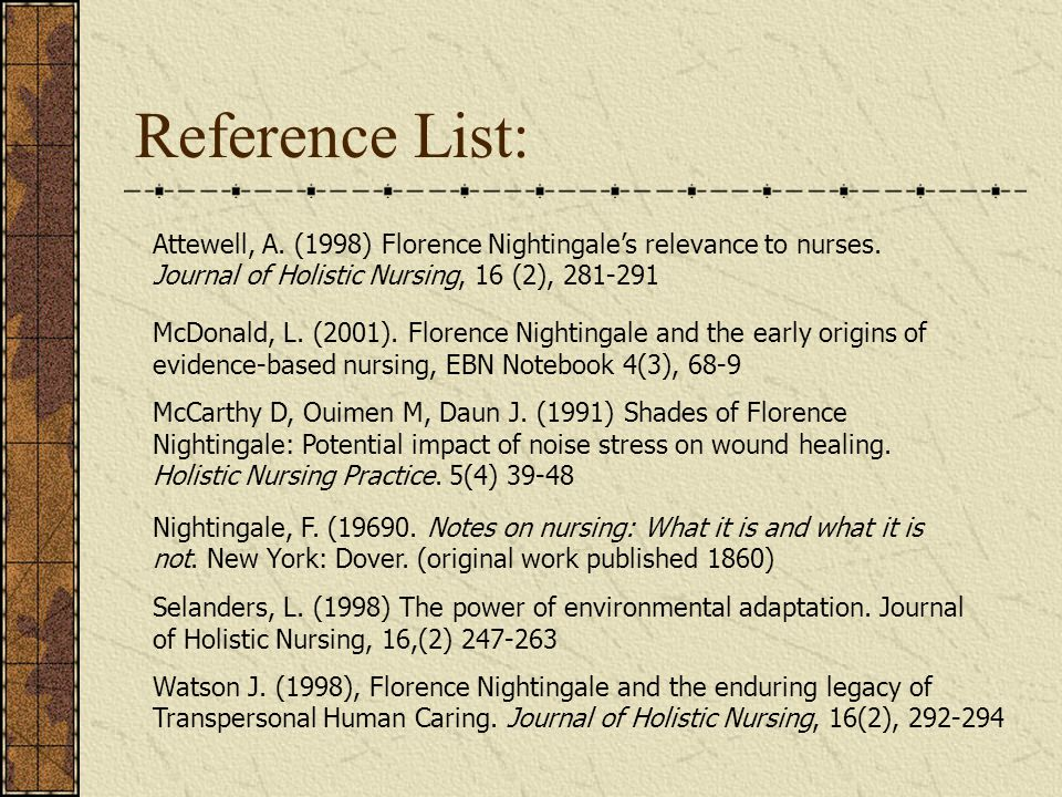 nursing hygiene and environmental theory nightingale the application of environmental nursing theory to florence nightingales views