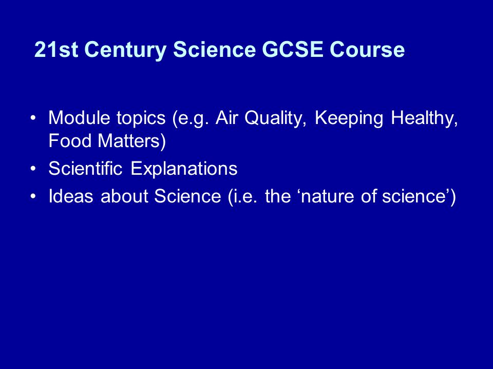 21st century science coursework Home gcse  physics  guidance for ocr twenty first century science - controlled assessed investigation  excellent preparation for your actual controlled assessed coursework task for additional science of physics gcse  gcse ocr 21st century science p7 specimen paper + mark scheme (higher) 00 / 5 gcse aqa physics specification.