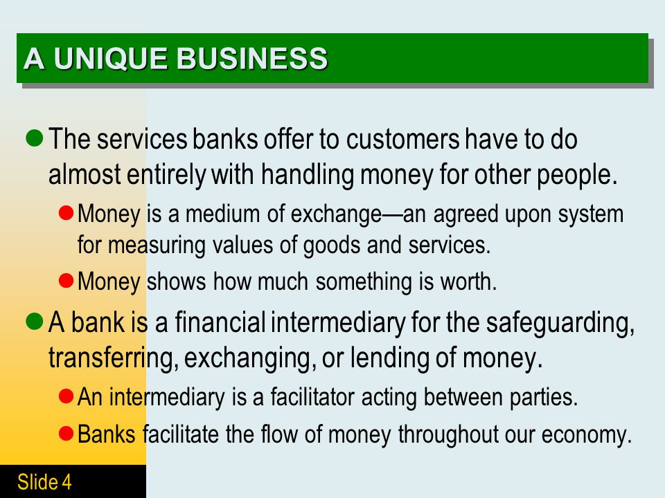 Services banks offer - Largest markets in the us
