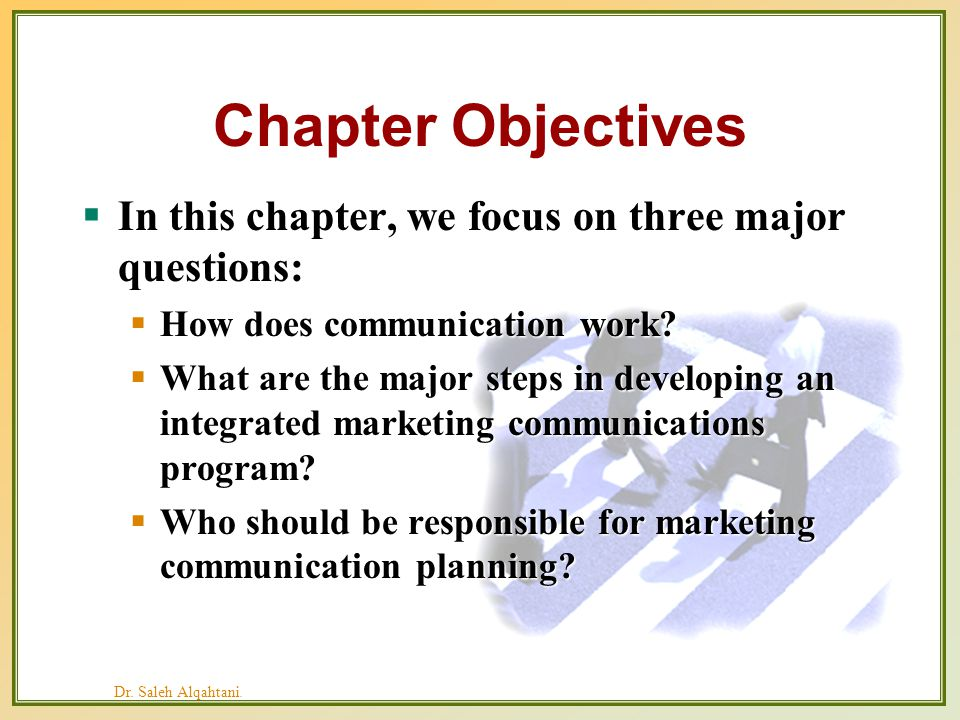 chapter 8 integrated marketing communications Advil (chapter 8) advil has used integrated marketing communications to establish a strong brand presence its digital component is an integral part of advil's imc program.