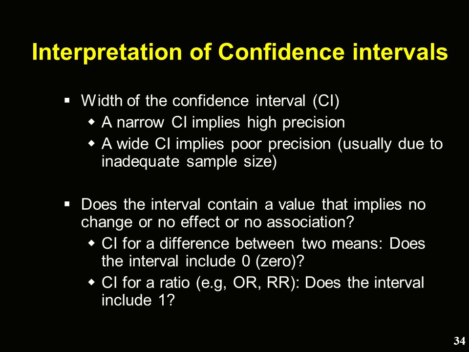 What do p-values and confidence intervals really tell us? - ppt ...