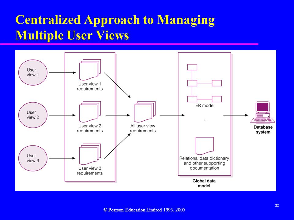 Centralized Approach to Managing Multiple User Views