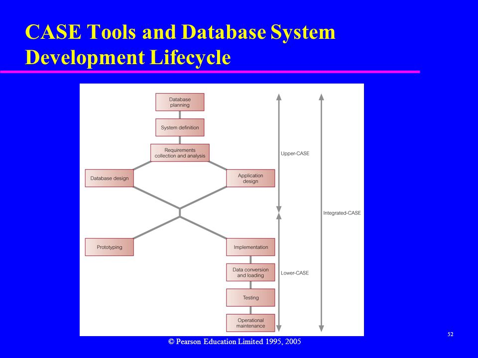 CASE Tools and Database System Development Lifecycle