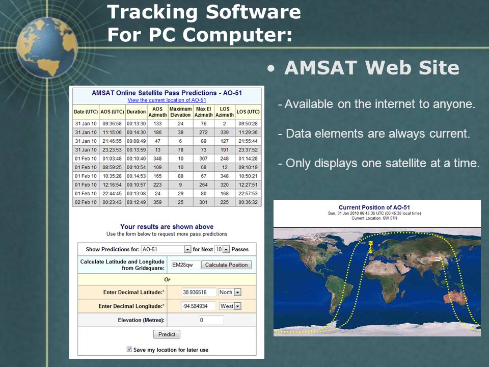 Tracking Software For PC Computer: