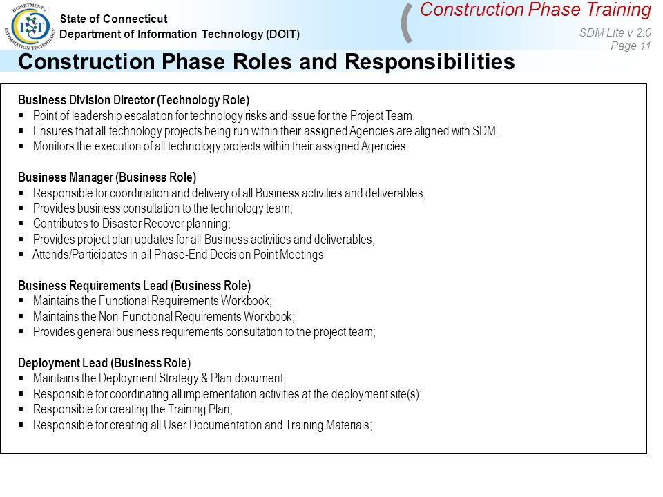 construction business plan documentation