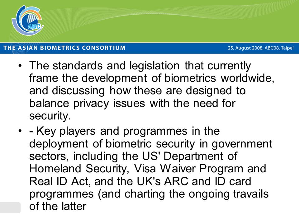 biometrics ethical and privacy issues Biometrics (in terms of ethical and privacy issues) order description biometrics (in terms of ethical and privacy issues) this assignment has two goals: 1) have students increase their understanding of the concept of protecting personal information (ppi) and other ethical issues related to the use of information technology through research, and.