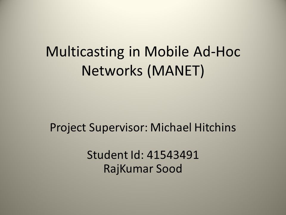 mobile ad hoc networks manet Rfc 2501 (was draft-ietf-manet-issues) mobile ad hoc networking (manet):  routing protocol performance issues and evaluation considerations 1999-01.
