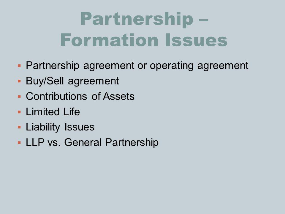 general partnership operating agreement