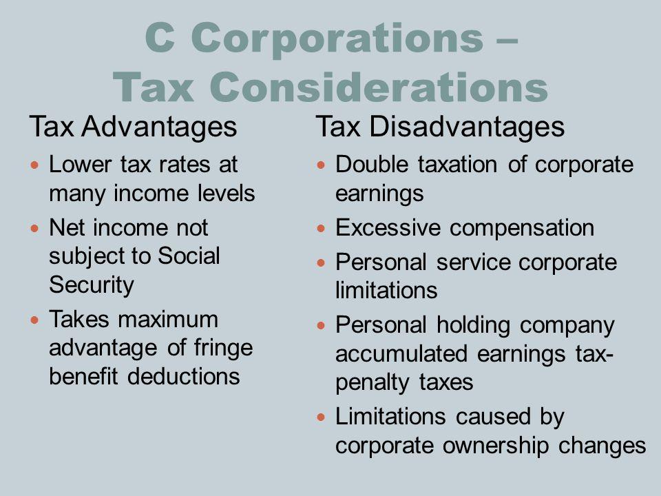 Advantages And Disadvantages Of A Income Tax Economics Essay