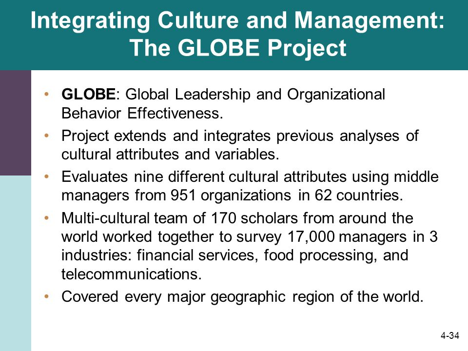 3 main difference in management culture Chapter 8: global management discuss the importance of identifying and adapting to cultural differences consequently, when companies try to adapt management practices to cultural differences.