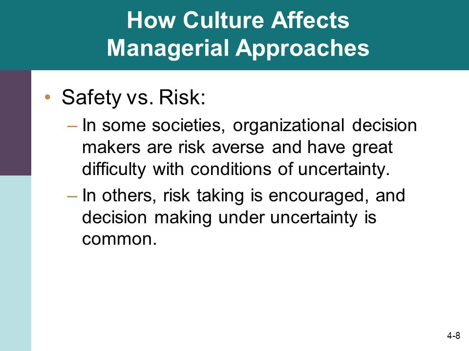 how culture affects organisation Inconsistencies your strategic plan may not be consistent with your culture for example, if your company culture focuses on making the workplace enjoyable and your strategic plan involves ramping up production, employees may resist the need to work harder and faster.