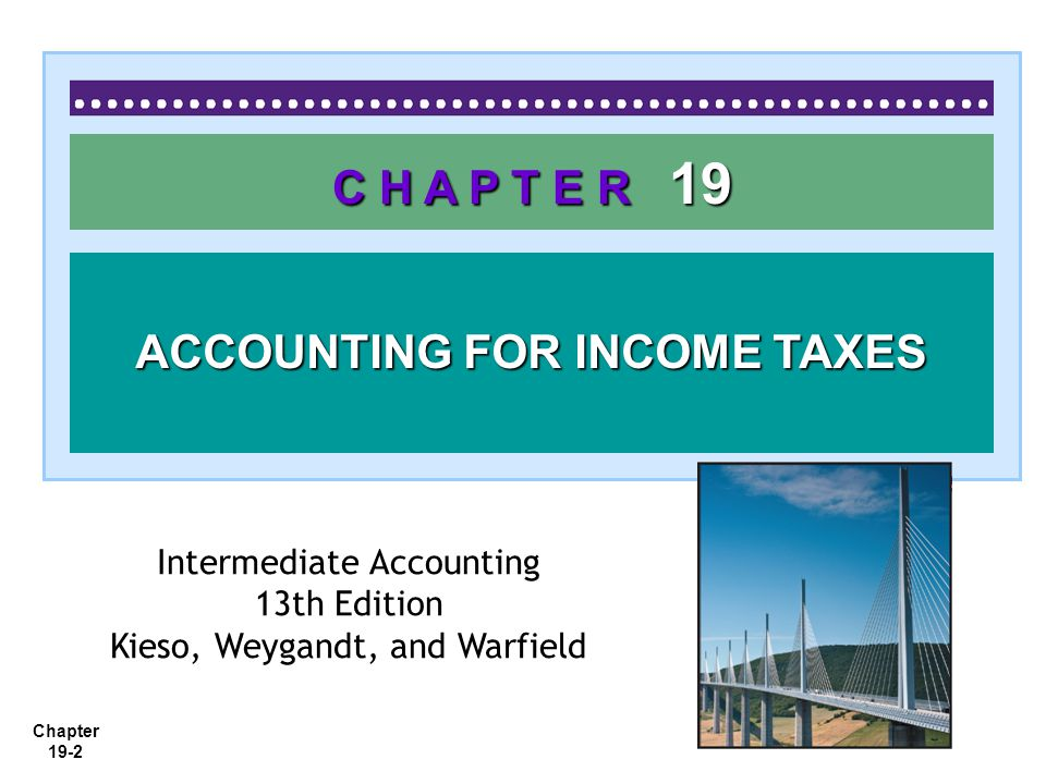 accounting for income taxes Corporations must file income tax return following the guidelines developed by   credit, the discounting of income taxes, and the accounting for income taxes in .