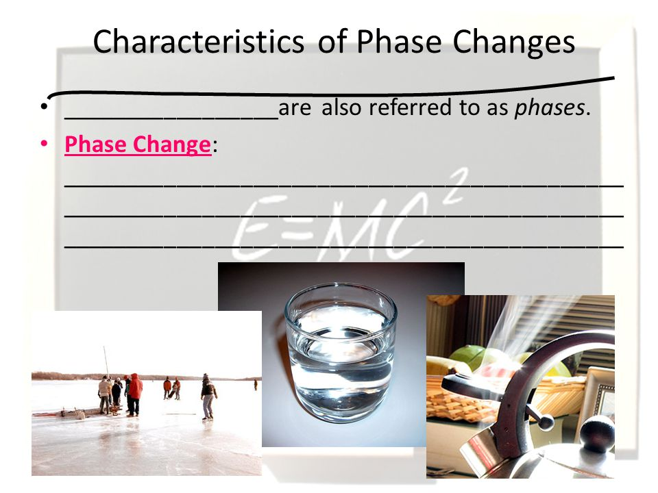 Phase Changes What did one water molecule say to another water ...