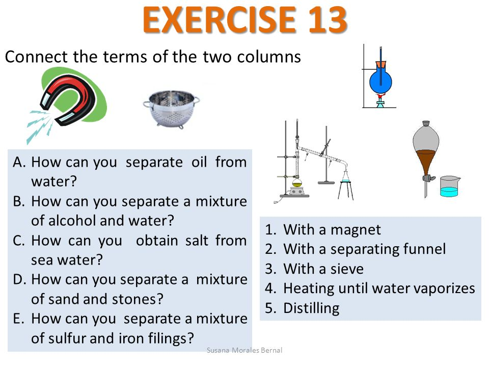 unit 3  pure substances and mixtures