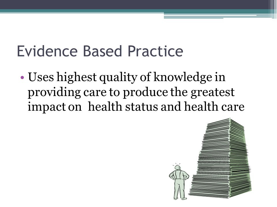 essay on evidence based practice nursing