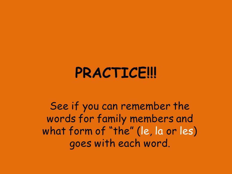 PRACTICE!!.