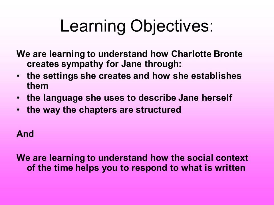 how does charlotte brontë create sympathy How does charlotte bronte create sympathy for jane eyre an author's life or personal traits are found in the novel and in jane eyre , a novel widely acclaimed for its unconventional love , elements of charlotte bronte's life prevailed throughout.