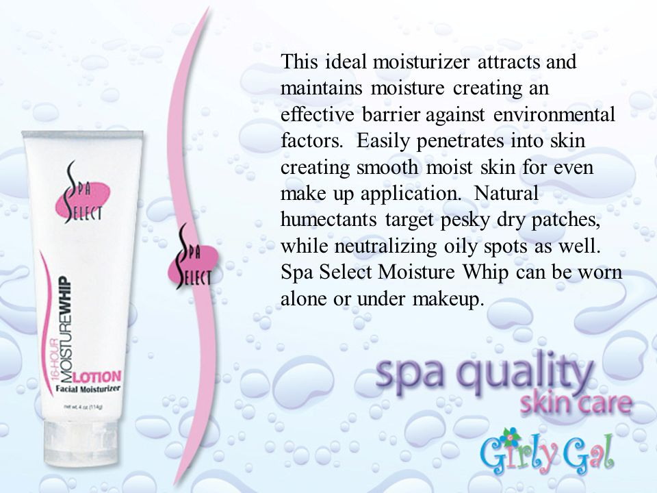 This ideal moisturizer attracts and maintains moisture creating an effective barrier against environmental factors.