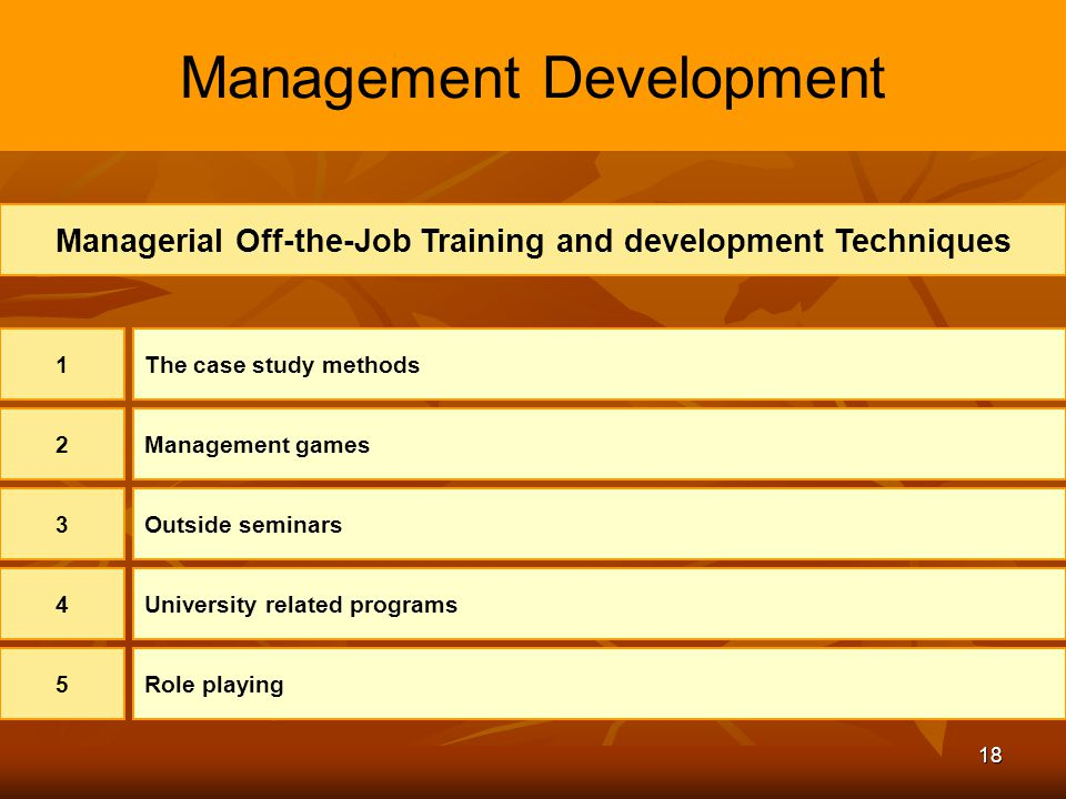 Managing the Learning and Development Function