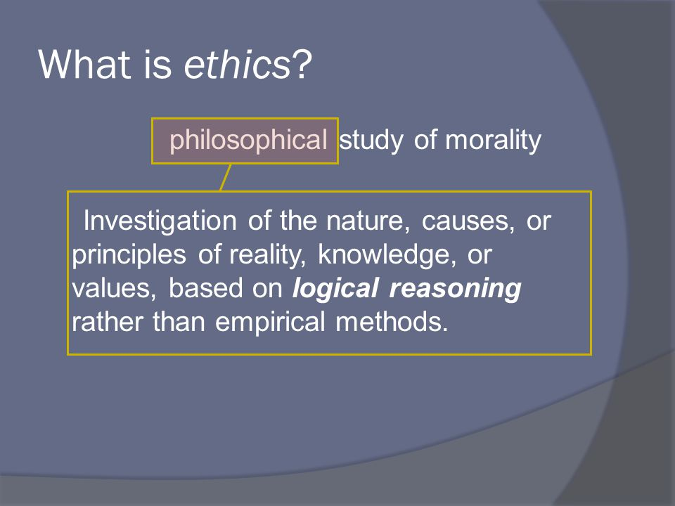 ethical systems are the same as moral rules true or false Ethics are a system of moral principles and a branch of philosophy which defines what is good for individuals and society at its simplest, ethics is a system of moral principles they affect how people make decisions and lead their lives ethics is concerned with what is good for individuals and.