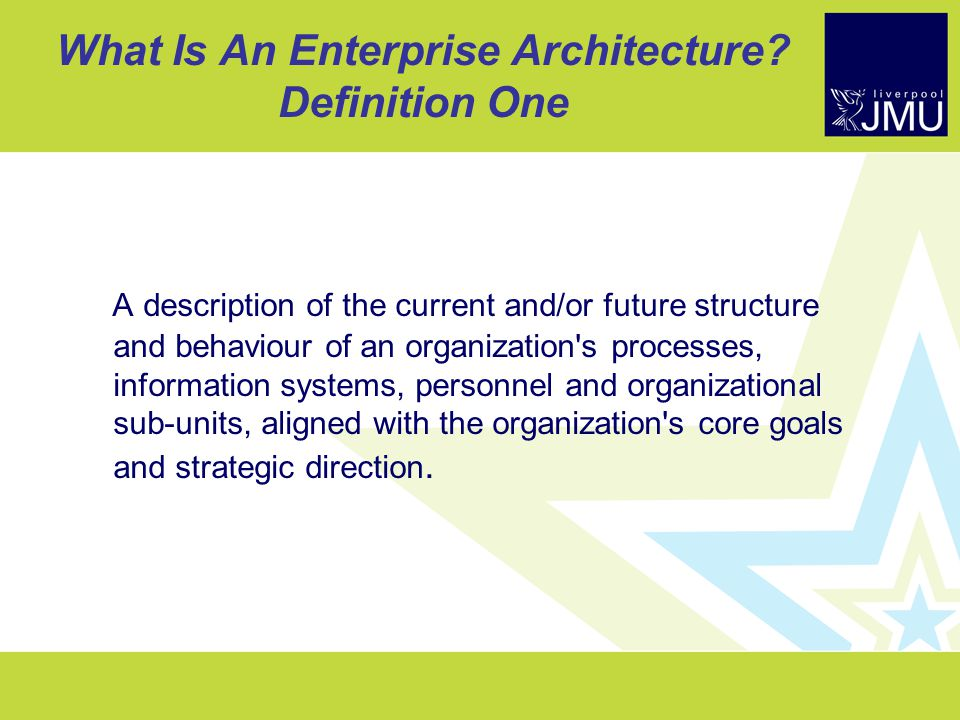 doing enterprise architecture - ppt download