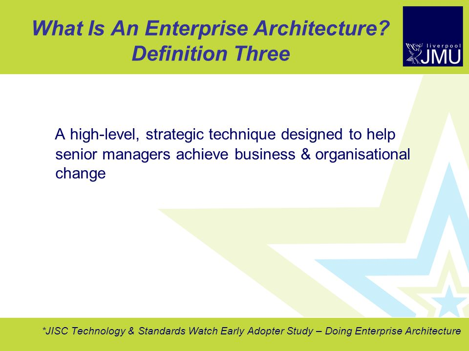 Doing enterprise architecture ppt download for Architecture definition