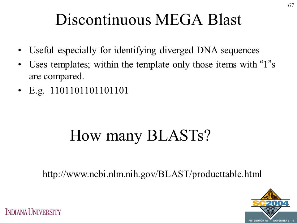 Open source tools for computational biology ppt download discontinuous mega blast malvernweather Image collections