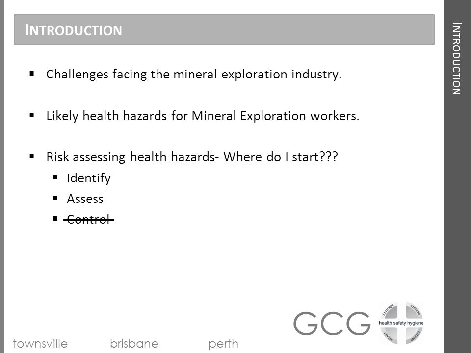 health and safety challenges in the mining industry The mining industry offers one of the more challenging working environments in australia such is the nature of the working conditions that the mining industry experiences one of the highest rates of mental health conditions among employees in the country.