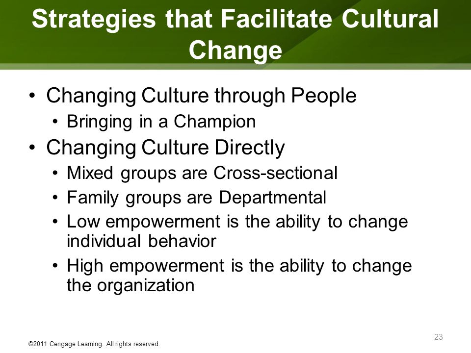 strategic and cultural change at chrysler group essay Culture is critically important to business success, according to 84 percent of the more than 2,200 global participants in the 2013 culture and change management survey.