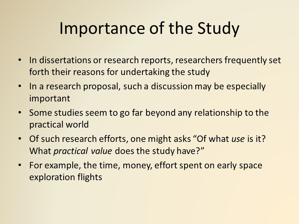 reasons for a research paper Research needs and requirements vary with each assignment, project or paper although there is no single right way to conduct research, certain methods and skills can make your research efforts more efficient and effective.