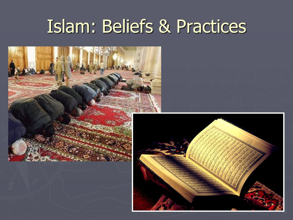 an overview of the practices and beliefs of the religion of islam In these matters, we strive to be descriptive, respecting the diversity of islam as lived religion, but our reference point is the islam we believe in and practice as american muslims in most cases, but not necessarily all, this is in accord with islam as believed in, practiced, and lived by the majority of muslims worldwide.