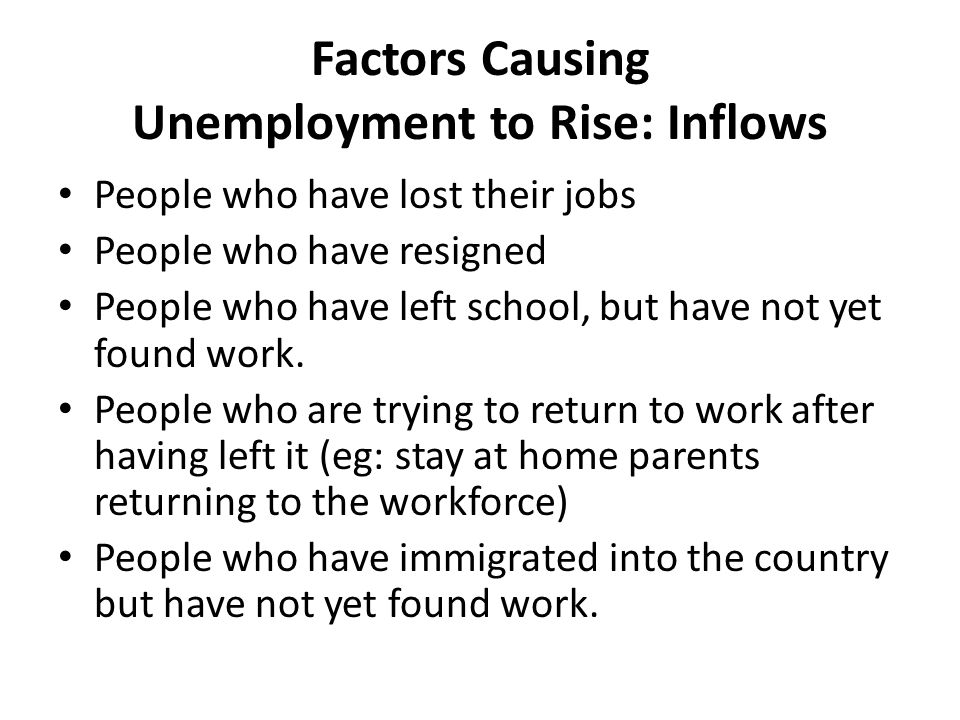 various elements causing the rise of unemployment As shown in the following charts, the analysis finds that in 2013, a $1 increase in the minimum wage was associated with a 148 percentage point increase in the unemployment rate, a 018 percentage point decrease in the net job growth rate, a 467 percentage point increase in the teenage unemployment rate, and a 401.