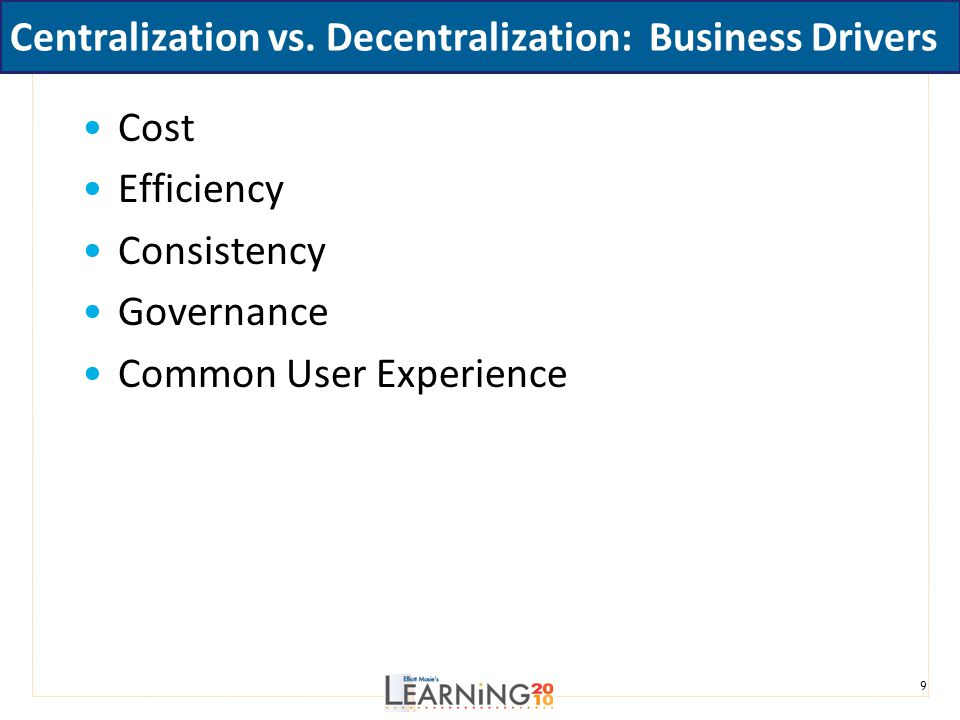 Centralized vs. Decentralized: Pros, Cons & Best Practices ...