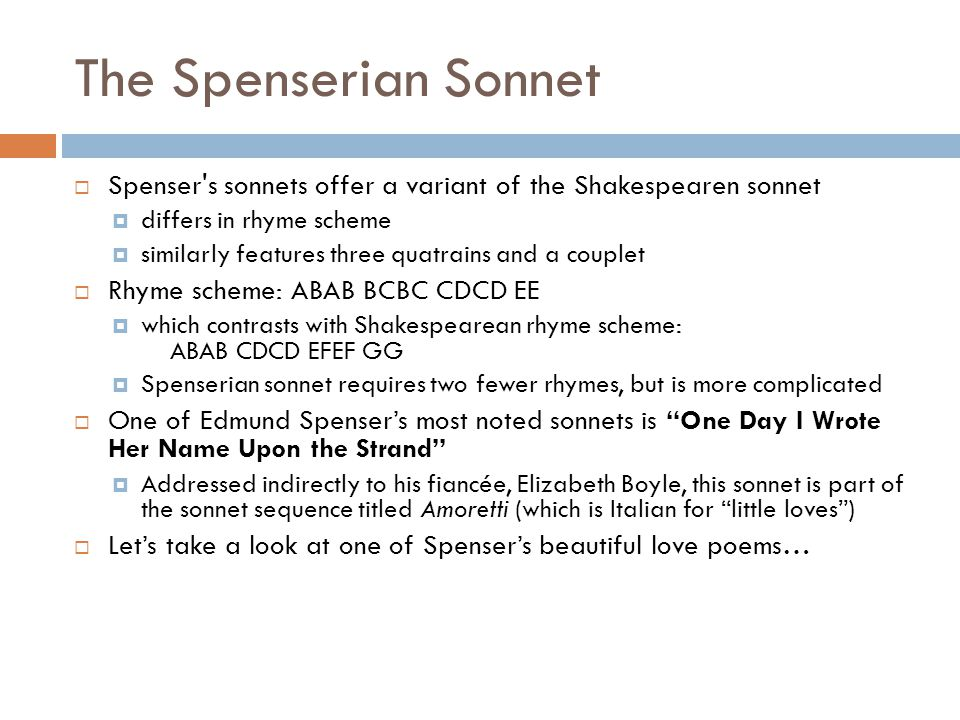 The Golden Age, The Spenserian Sonnet, and The Faerie Queene - ppt ...