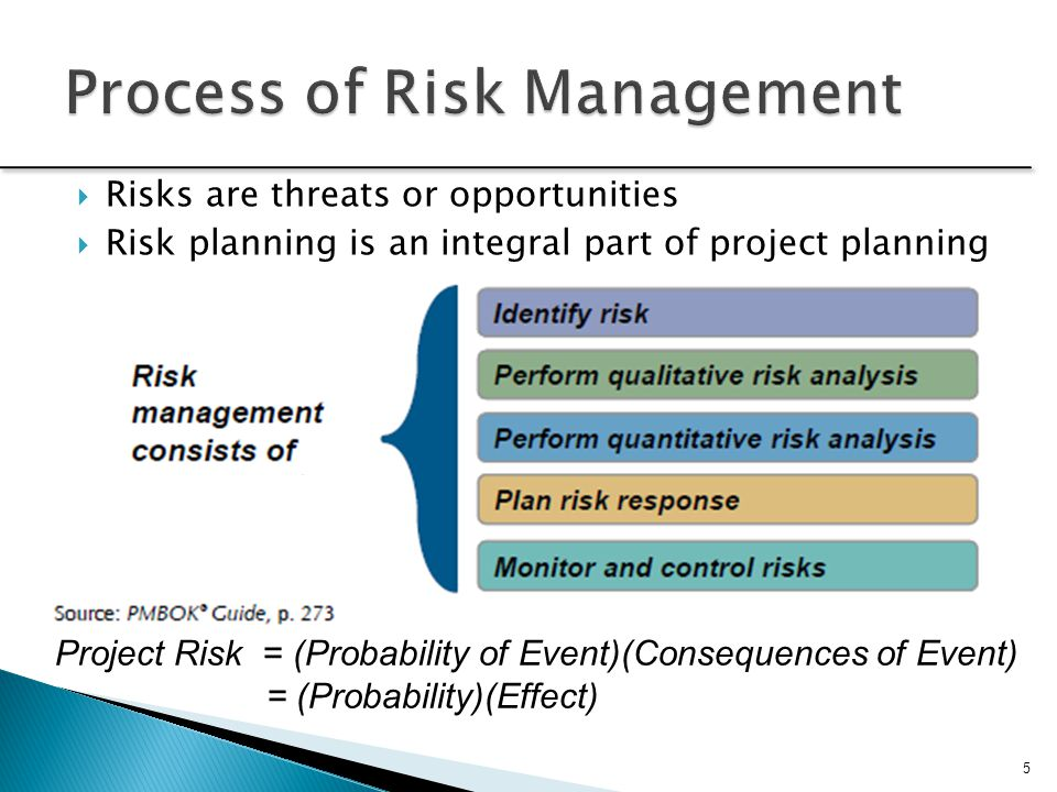 Process of Risk Management