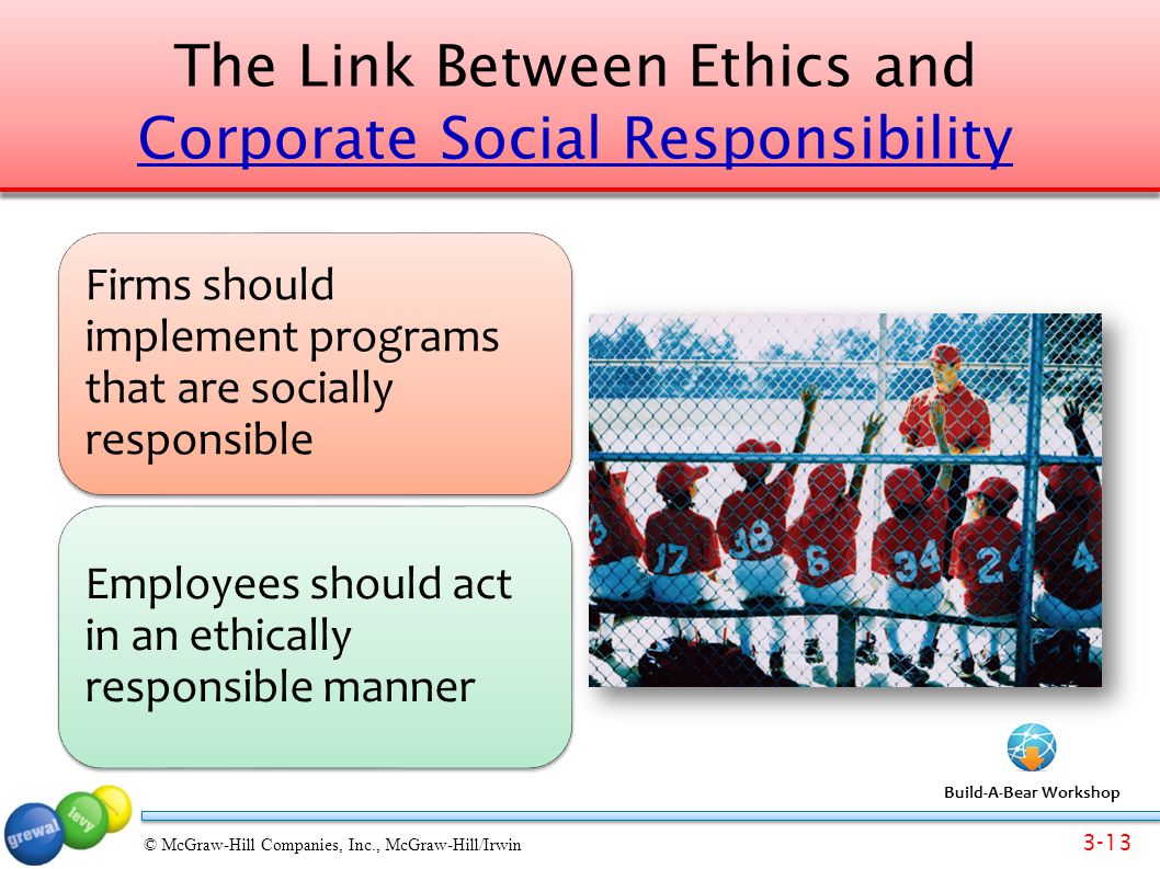 the relationship between ethics and corporate The connection between reputation and ethics is complex a pattern of ethical behaviour is clearly essential to establishing a good reputation, which for a company means a reputation as the kind of company people want to do business with.