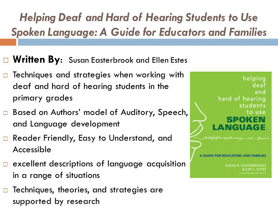 how to cope with and understand the deaf student Deaf college students' perceptions of their social how do students' perceptions of their social emotional as well as the deaf students' coping skills and.