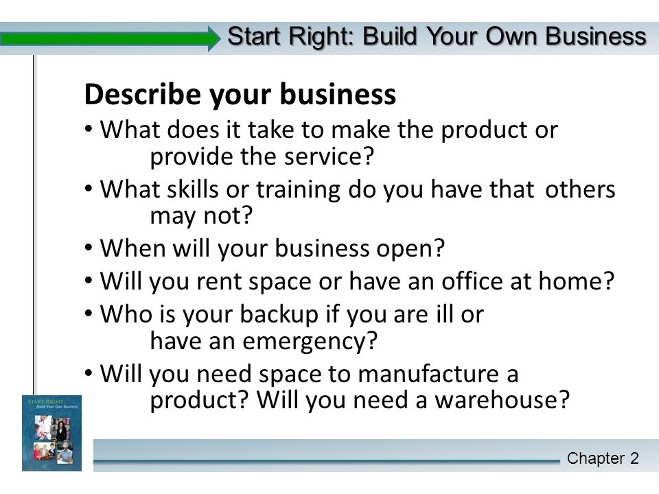 Start right build your own business ppt download for How long does it take to build your own house