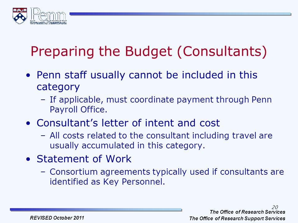 Sponsored programs at penn proposal budget preparation budgeting 20 preparing spiritdancerdesigns Images