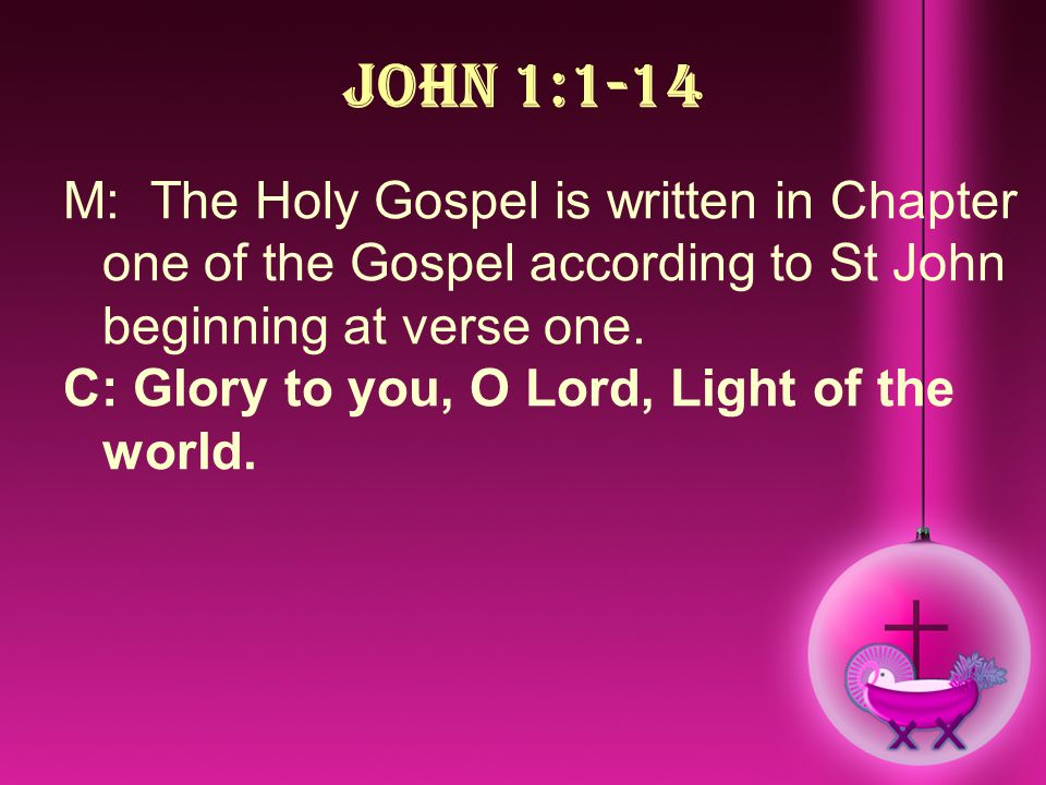 the loss of salvation in chapter fifteen of the gospel of john This encyclical develops and updates the second vatican council's teaching contained in chapter viii of  and loss of the  gospel of john is.