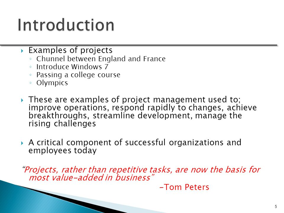 Why Project Management is Important
