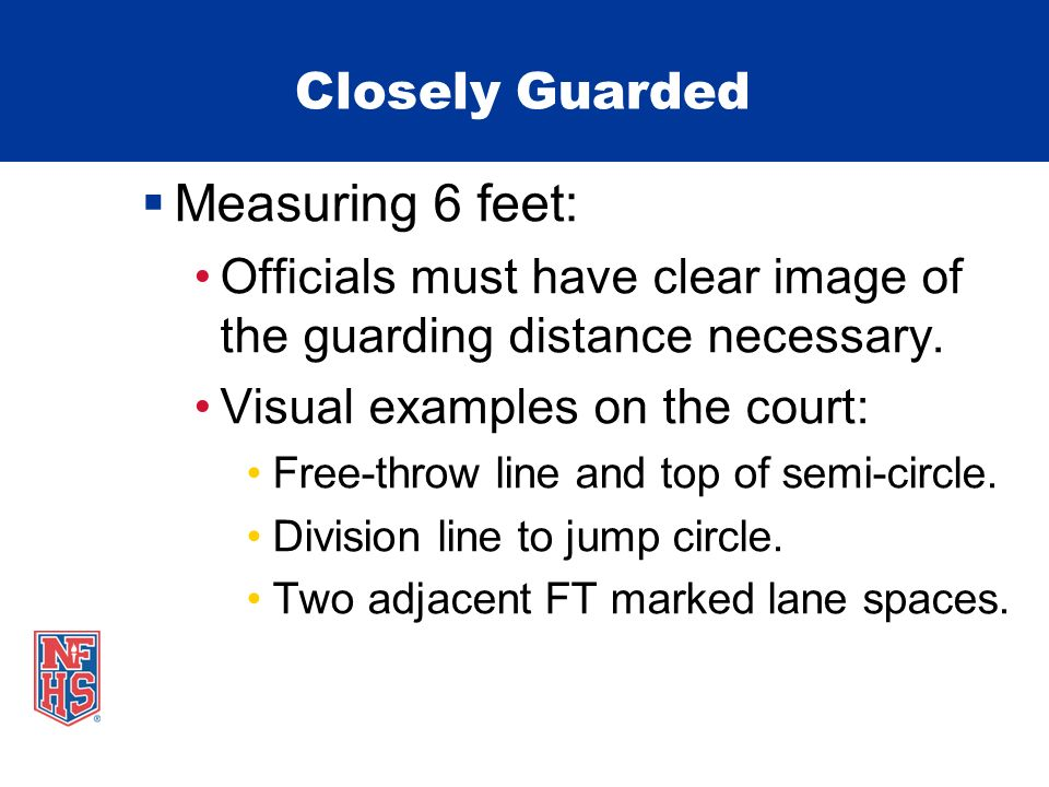 Measuring 6 feet: Closely Guarded