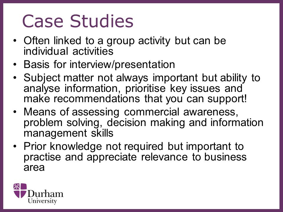 prepare case study presentation interview Preparing for the case interview  opportunity to practice a number of cases as you prepare for case  to stand out in your case study interview.