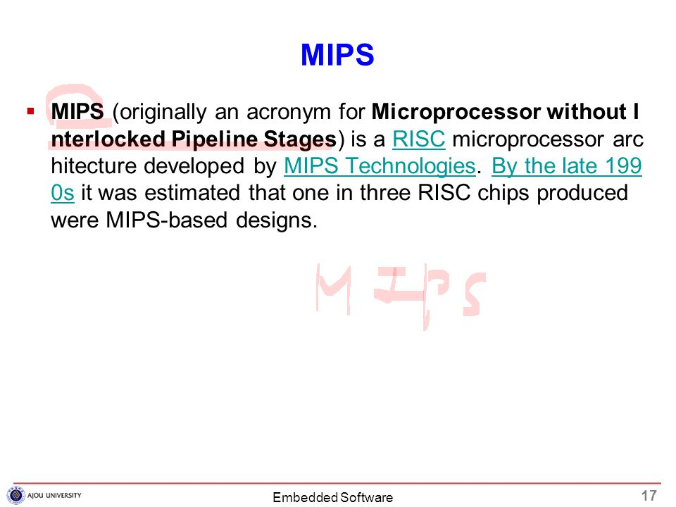 microprocessor without interlocked pipeline stages architecture Mips (microprocessor without interlocked pipe stages) is a general purpose processor architecture designed to be implemented on a single vlsi chip the main goal of the design is high performance in the execution of compiled code the architecture is experimental since it is a radical break with the.