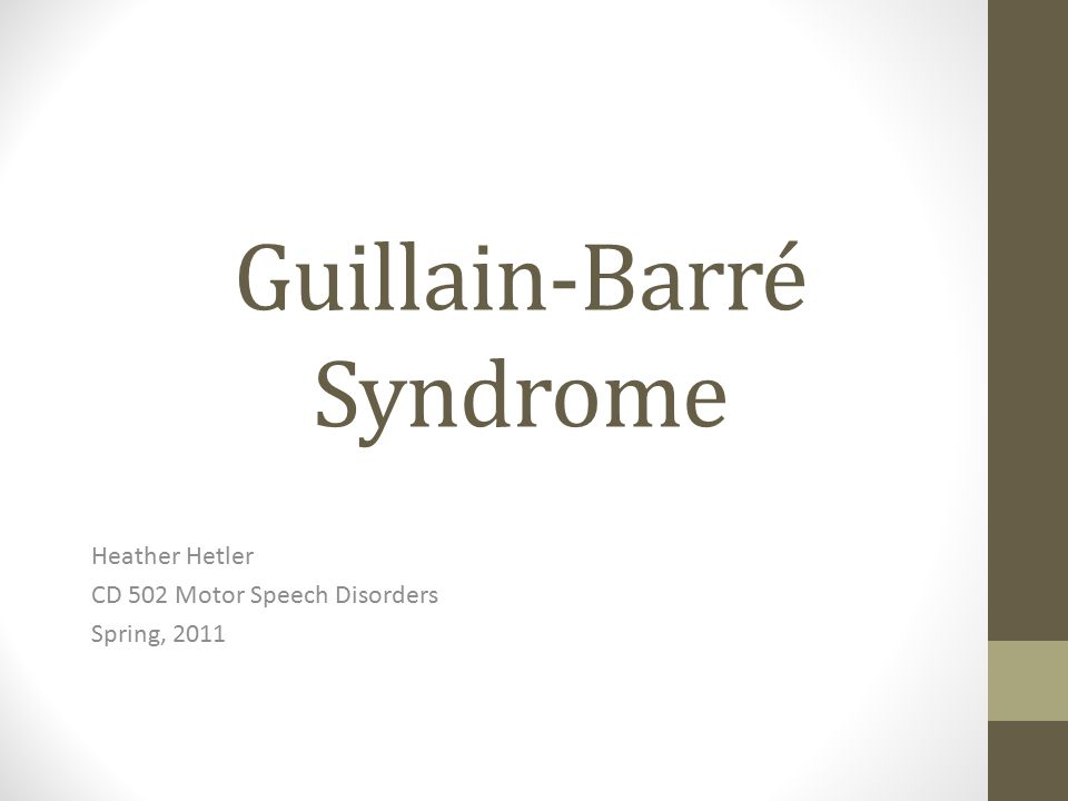 guillain barre syndrome descrption essay Medical advice, diagnosis or treatment of guillain-barré syndrome, cidp, related neuropathies or any other medical condition guillain-barre syndrome.