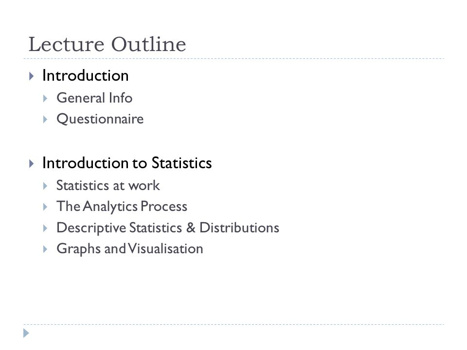 Introduction descriptive statistics