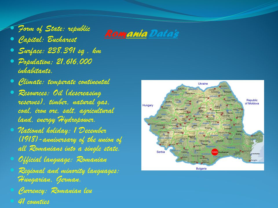 Four Natural Resources In Transylvania